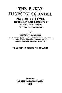 Vincent Arthur Smith Irish historian, art historian and indologist