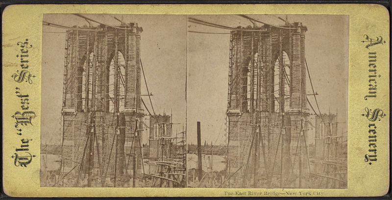 File:The East River bridge, New York City, from Robert N. Dennis collection of stereoscopic views.jpg