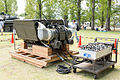 The Engine of the Type 74 MBT, The 61th Memorial Ceremony, Camp Katsura, JGSDF (21490117820).jpg
