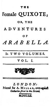 The Female Quixote cover