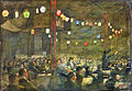 The Gala Performance - 'the Mikado' at the Theatre of the British Civilian Pow Camp, Ruhleben, Germany Art.IWMART6173.jpg