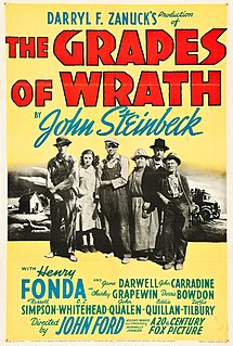 <i>The Grapes of Wrath</i> (film) 1940 film by John Ford