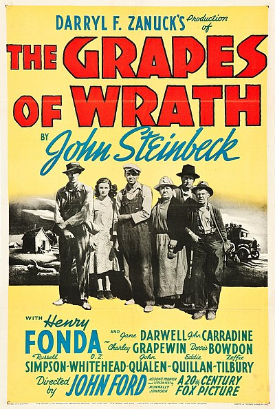 Picture of a movie: The Grapes Of Wrath