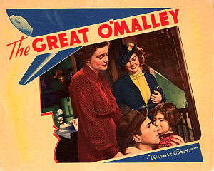 The Great O'Malley - Lobby card for the film.