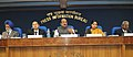 The Minister of State (Independent Charge) for Consumer Affairs, Food and Public Distribution, Professor K.V. Thomas addressing a press conference to brief about consultations held with the states on Food Security Bill (1).jpg