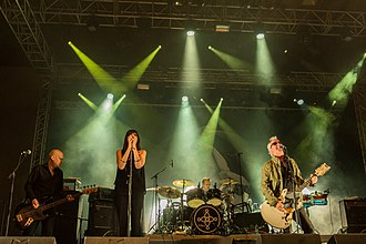 The Mission (band) - Image: The Mission Wave Gotik Treffen 2017 13