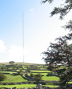 The Nebo Relay Mast - geograph.org.uk - 259341.jpg