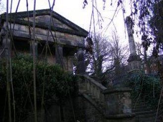 Sheffield General Cemetery - Image: The Nonconformist chapel. Sheffield general cemetery, Sharrow(256x 192)