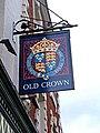 The Old Crown pub sign, 81-83 Westgate Street - geograph.org.uk - 1430786.jpg