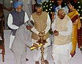 The President, Dr. A.P.J. Abdul Kalam inaugurating the Parliament Museum by lighting the lamp, in New Delhi on August 14, 2006.jpg