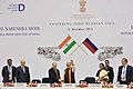 "The Prime Minister, Shri Narendra Modi and the President of Russian Federation, Mr. Vladimir Putin at the ""World Diamond Conference"", in New Delhi on December 11, 2014 (1).jpg"