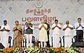 The Prime Minister, Shri Narendra Modi at the Platinum Jubilee celebrations of the Daily Thanthi, in Chennai.jpg