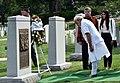 The Prime Minister, Shri Narendra Modi paying homage at Space Shuttle Columbia Memorial, in Washington DC on June 06, 2016 (1).jpg