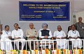 The Prime Minister Dr. Manmohan Singh at the inaugural of the construction works of the new International Terminal and laying the foundation stone of the Aircraft Maintenance Hanger unit at Thiruvananthapuram Airport.jpg