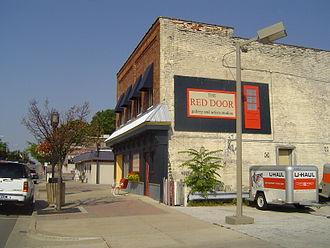 Ludington, Michigan - Image: The Red Door 1