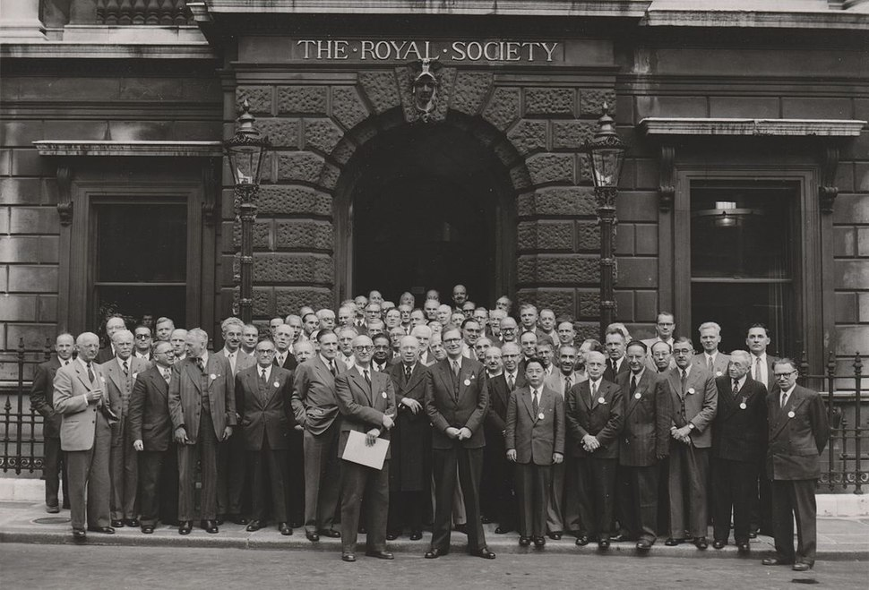 The Royal Society 1952 London no annotation