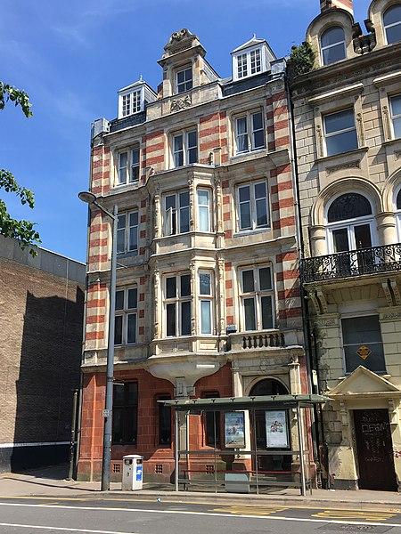 File:The Safehouse Hostel, Westgate Street, Cardiff.jpg