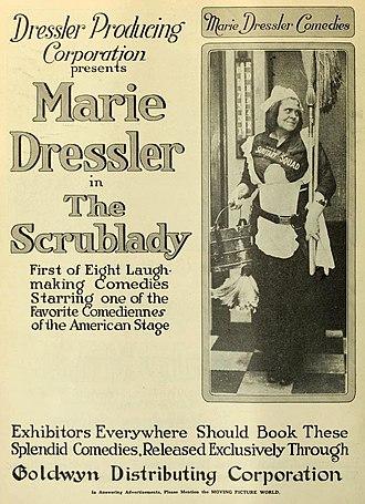 Marie Dressler - The Scrublady (1917)