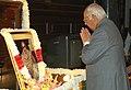 The Speaker, Lok Sabha, Shri Somnath Chatterjee paying tribute at the portrait of Shri C. Rajagopalachari on his birth anniversary, in New Delhi on December 10, 2007.jpg