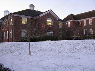 The Thomas Hardye School Academy in Dorchester, Dorset, England