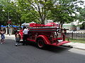 The Toronto Fire Department keeps this beautiful 75 year old fire engine in service for public and ceremonial events, 2015 08 06 (6) (20341876512).jpg