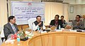The Union Minister for Law & Justice, Shri D.V. Sadananda Gowda addressing at the Silver Jubilee Celebration of the Institute of Legislative Drafting and Research (ILDR), in New Delhi on February 19, 2015.jpg