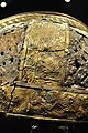 The Vikings Begin 74 - detail, warrior helmet, Valsgärde boat grave 5, 7th century.jpg