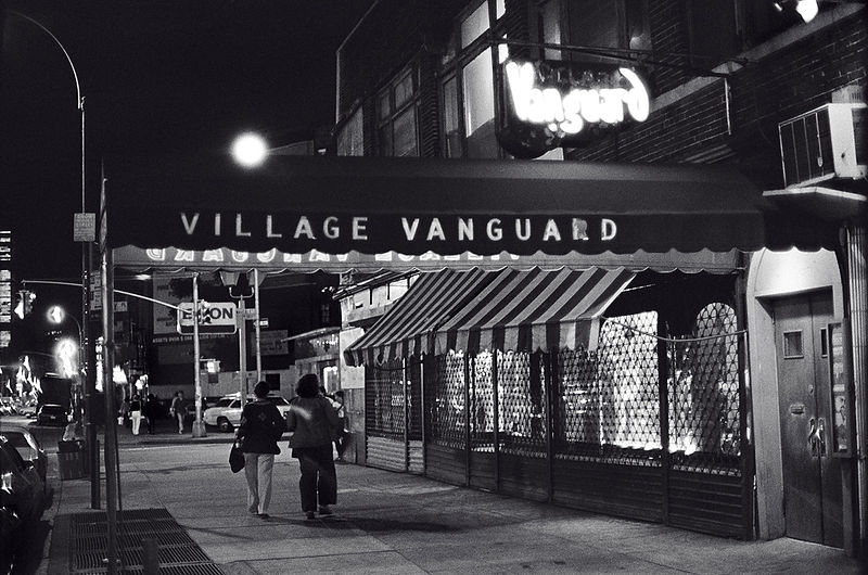 Village Vanguard at night, 1976.