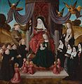 The Virgin and Child with St Anne, donors and Sts Francis and Lidwina by Master of the Saint John Panels (active 1470-95).jpg