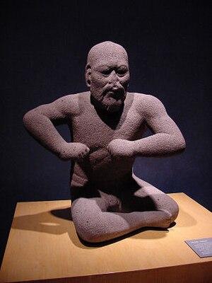 "Olmec - ""The Wrestler"", an Olmec era statuette, 1400–400 BCE"