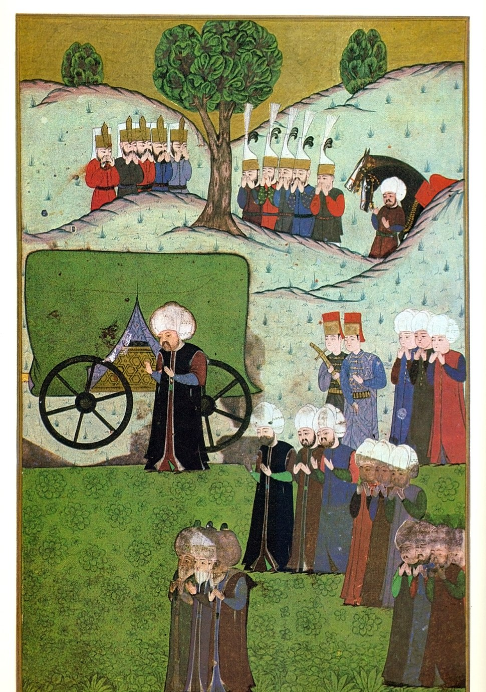 The body of Suleiman I arrives to Belgrade, Selim II is waiting for it A