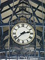 The clock on Brighton Station - geograph.org.uk - 874141.jpg