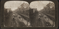 The famous Bowery, north from Grand Street, New York City, U. S. A, from Robert N. Dennis collection of stereoscopic views.png