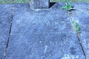 Lajos Bíró - The grave of Lajos Biro, Hampstead Cemetery, London