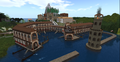 The harbour Ostia in Rome, Second Life.png