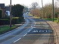The road to Mortimer at Beech Hill - geograph.org.uk - 635042.jpg