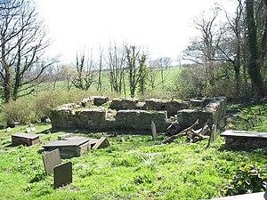 Old Church of St Gwenllwyfo, Llanwenllwyfo - Image: The ruins of Eglwys Gwenllwyfo geograph.org.uk 392343