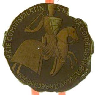 Coat of arms of Navarre - Image: Thibaut 4f