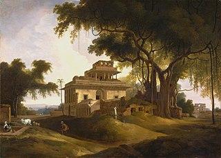 Ruins of the Naurattan, Sasaram, Bihar
