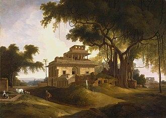 Thomas Daniell - Thomas Daniell - Ruins of the Naurattan, Sasaram, Bihar
