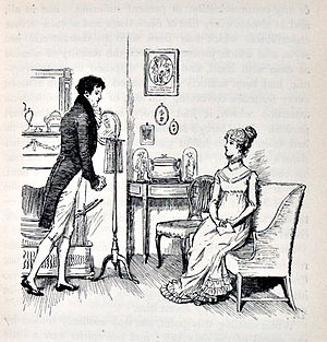Image at the beginning of Chapter 34. Darcy pr...