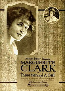 <i>Three Men and a Girl</i> 1919 film by Marshall Neilan