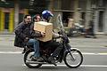 Three men and a box in Tehran.jpg