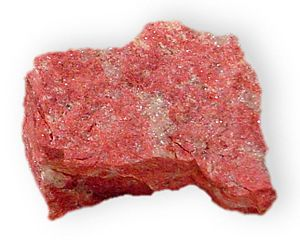 Thulite - Thulite from Leksvik, Norway.