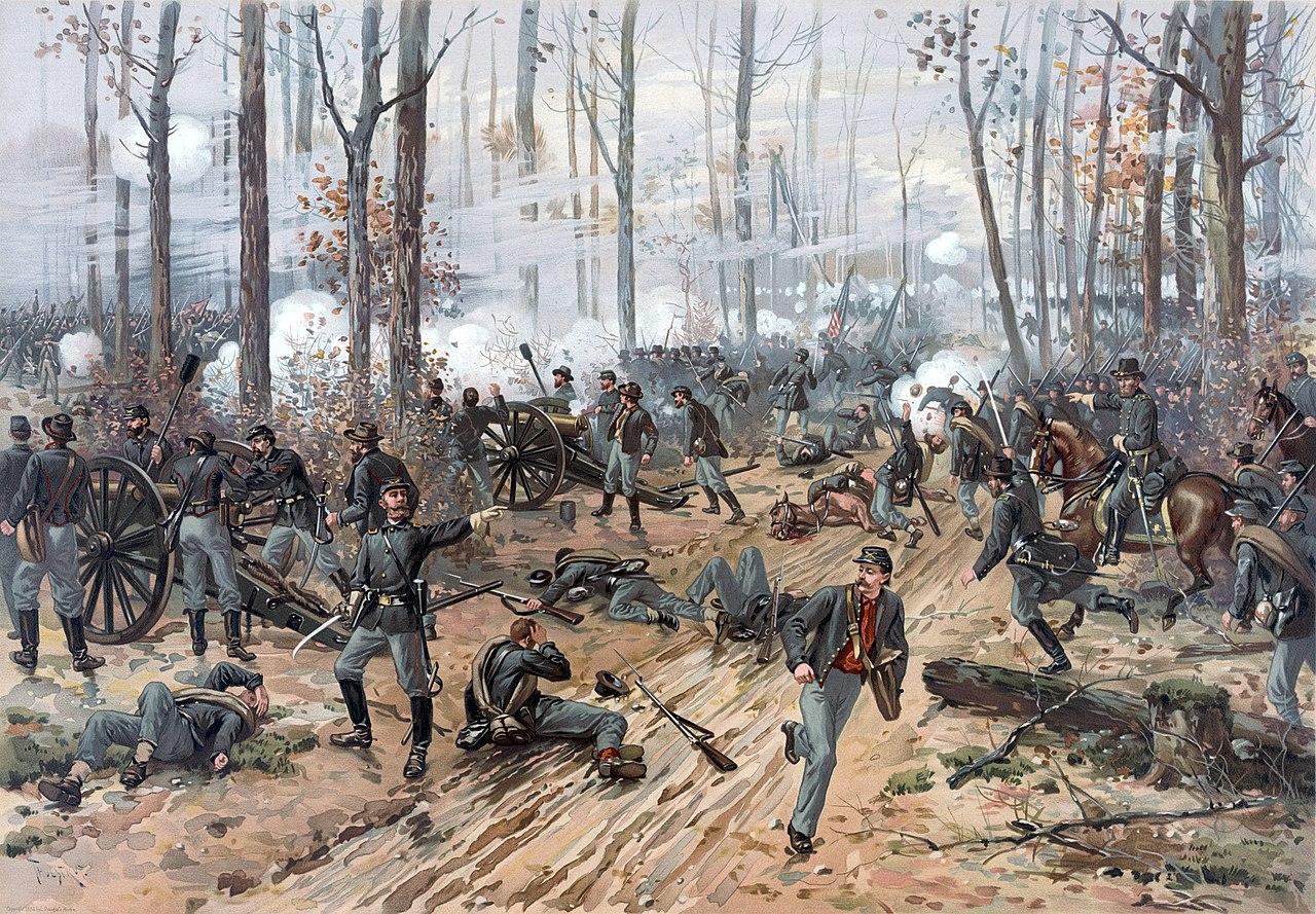 Thure de Thulstrup - Battle of Shiloh (cropped).jpg