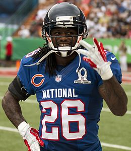 Tim Jennings 2013 Pro Bowl (cropped).JPG