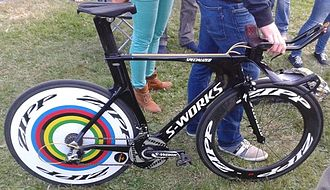 Specialized Bicycle Components - 2014 time trial bike of world champion Ellen van Dijk