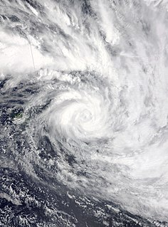 Cyclone Tino 2020 South Pacific cyclone