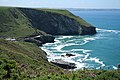 Tintagel, towards Dennis Point - geograph.org.uk - 842437.jpg