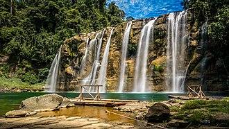 Tinuy-an Falls - Image: Tinuy an Waterfalls of Bislig
